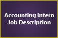 Accounting Intern Job Description