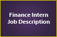 Finance Intern Job Description