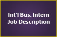 International Business Intern Job Description