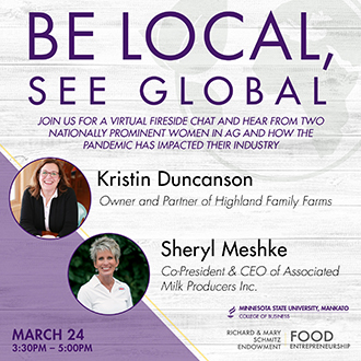 Be local see local 2021 Richard Schmitz food entrepreneurship series event poster